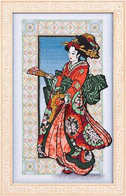 3971977_Zolotaya_seriya_YaM709_Devyshka_v_krasnom_kimono (258x400, 48Kb)