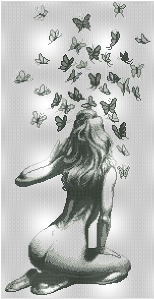 Танец бабочек.