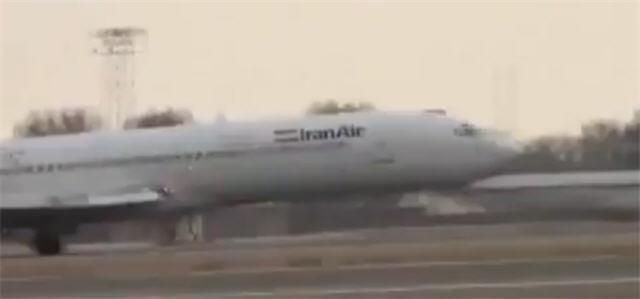 Аварийная посадка пассажирского самолета Боинг-727