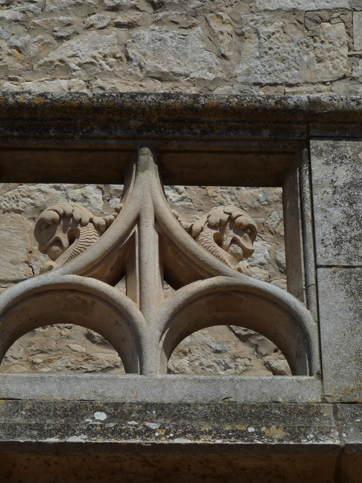 замок в Миланде (Chateau des Milandes). 69231