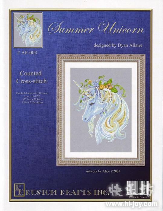 AF 003 Summer Unicorn (540x700