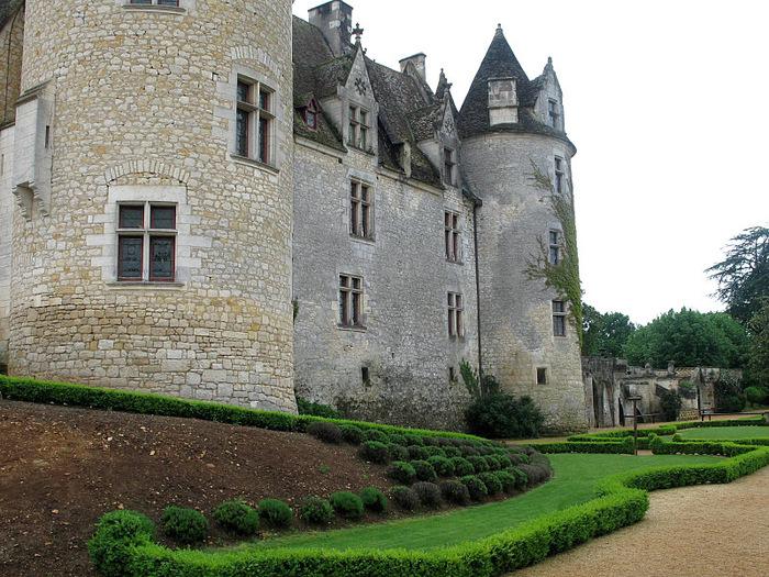 замок в Миланде (Chateau des Milandes). 89088