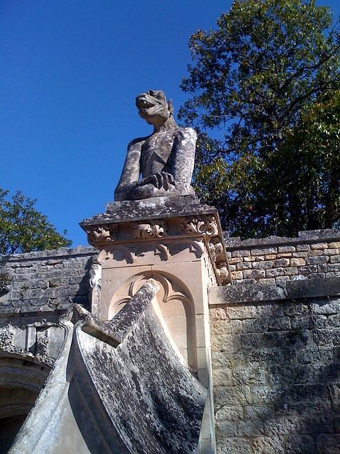 замок в Миланде (Chateau des Milandes). 79764