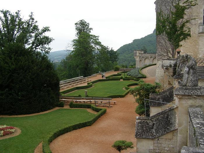 замок в Миланде (Chateau des Milandes). 36499