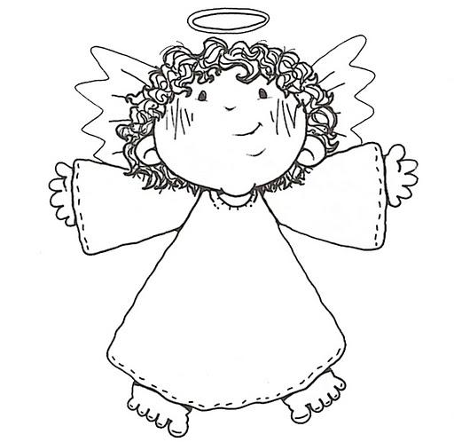 ангелочки рисунки: