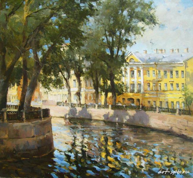 Канал Грибоедова в солнечный
