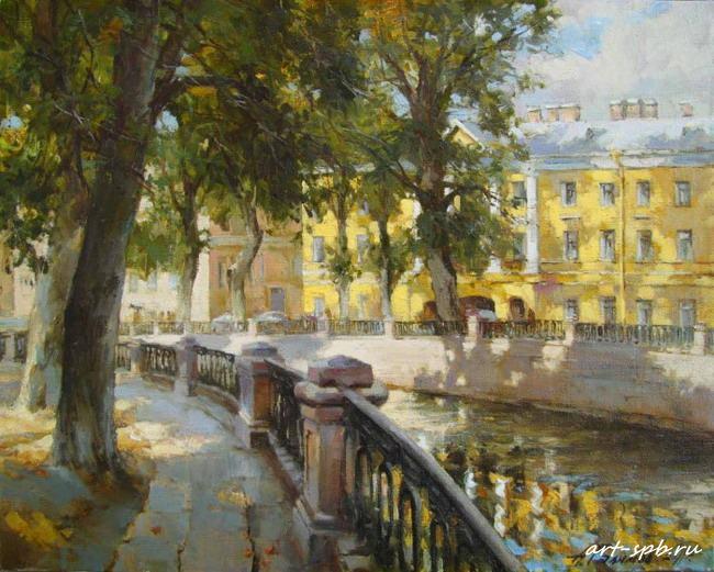 Канал Грибоедова. В тени