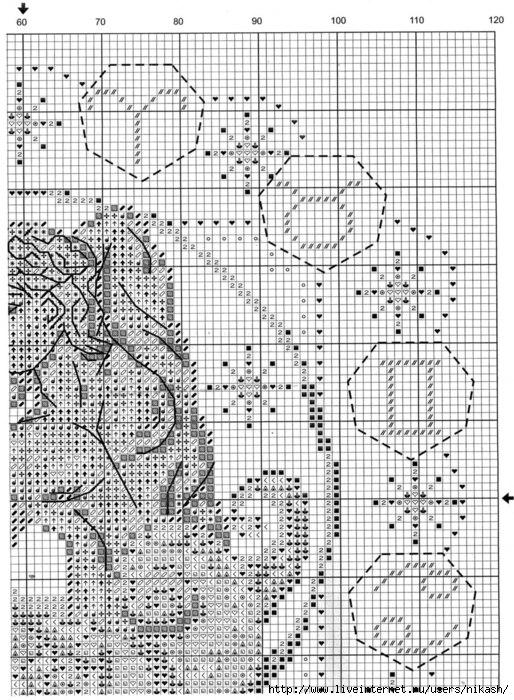 Часть 1 - Схема для вышивки.