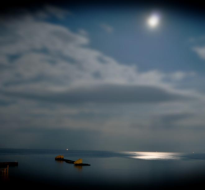 полнолуние, девятая станция одесса, море-море