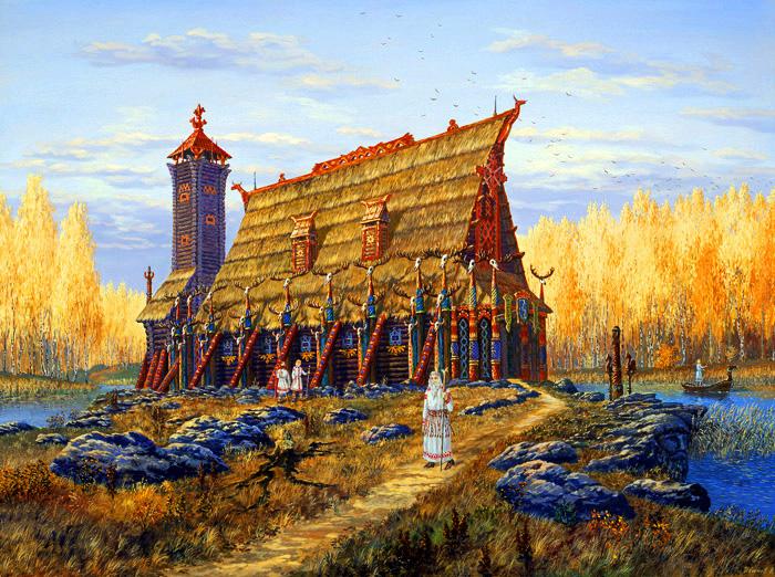храм бога Хорса (700x522, 302Kb)