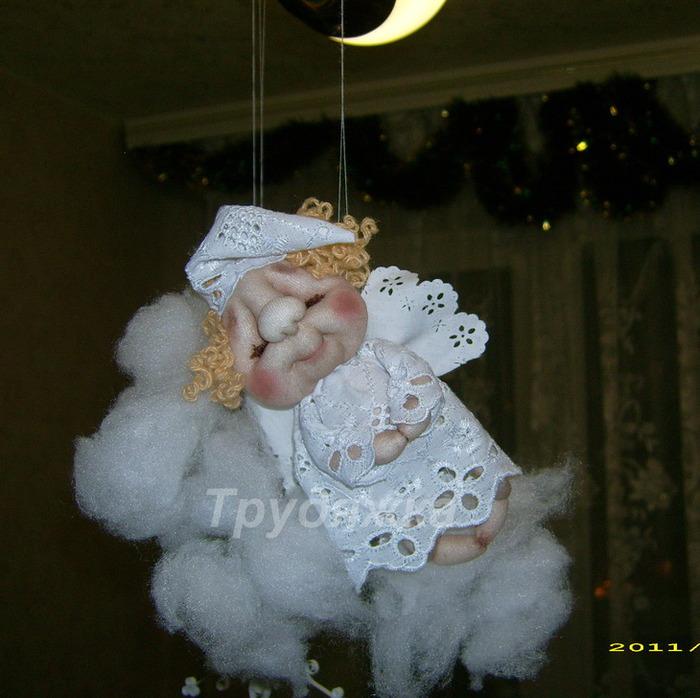 Кукла ангелочек своими руками фото