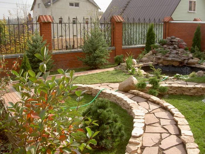 Сад и сделать его украшением вашего