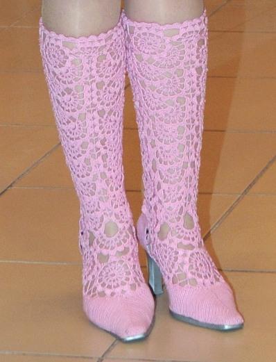 вязаная обувь | Записи в