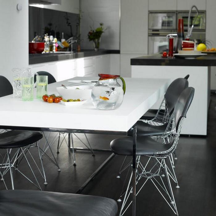 Идеи оформления интерьера столовой-гостиной