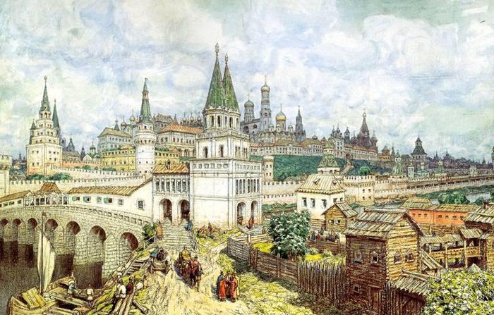 Тайна московского Кремля