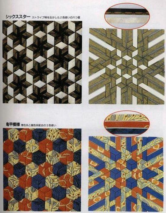 Способы плетения из ткани 165