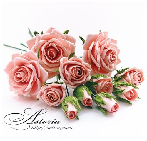 Цветы из своими руками мастер класс розы лентами