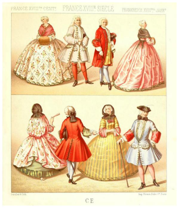 Одежда Франция