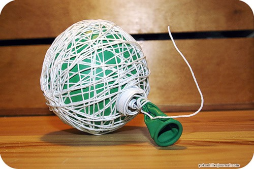 Как сделать шар с отверстиями