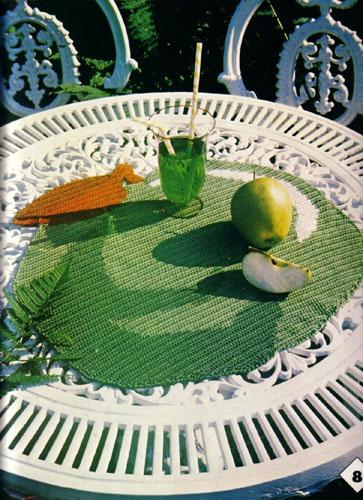 【转载】漂亮的家居钩编(3)  - 荷塘秀色 - 茶之韵