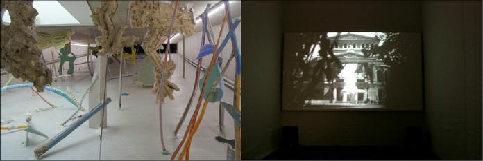 Набережная Рейна в Дюссельдорфе: КИТ, искусство в туннеле
