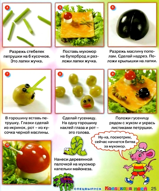Простые рецепты для детей своими руками 933