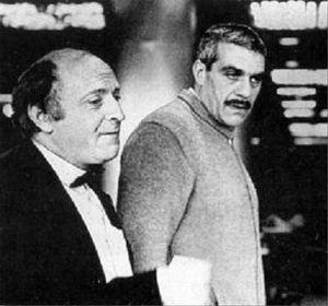 С Иосифом Бродском 3 декабря 1985 (300x280, 16Kb)