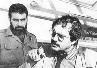 С Василием Аксеновым (аэропорт Кеннеди, NY. 10 сентября 1980 (400x280, 25Kb)