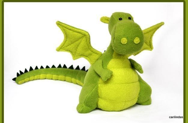Вязаный дракон спицами