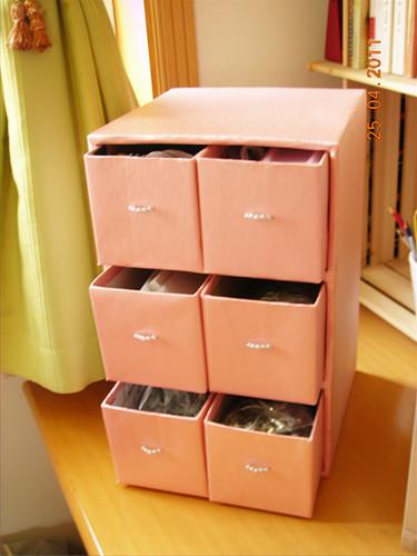 Как сделать коробочки для комода