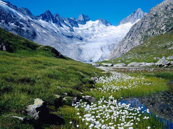 Unteraargletscher, Switzerland (700x525, 377Kb)
