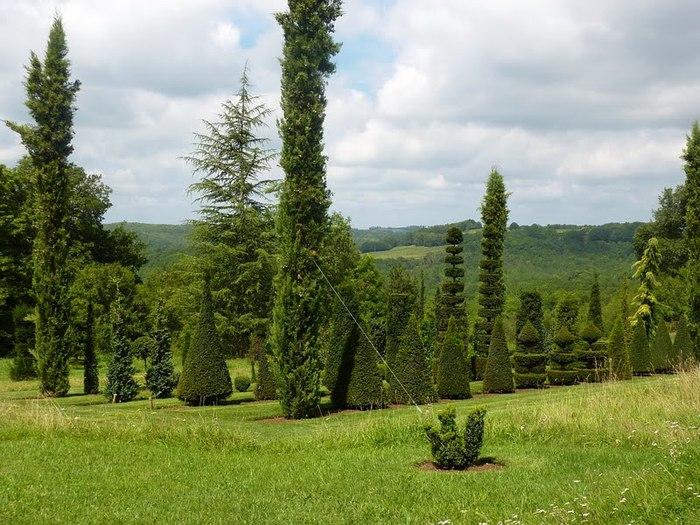 Сады поместья Эриньяк /Les Jardins du Manoir D'Eyrignac 41193
