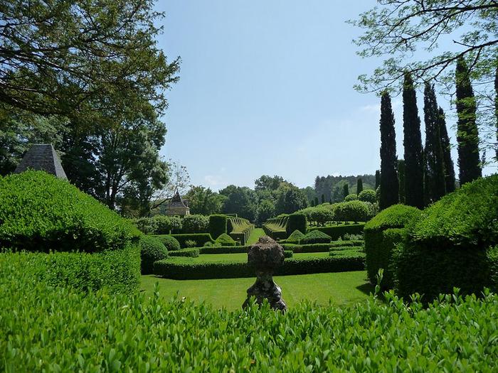 Сады поместья Эриньяк /Les Jardins du Manoir D'Eyrignac 26384