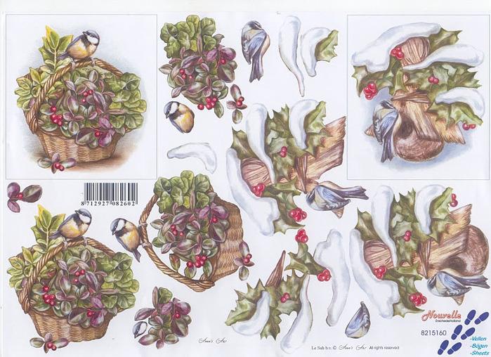 8215160 Vogels op bloemenmand (700x508, 164Kb)