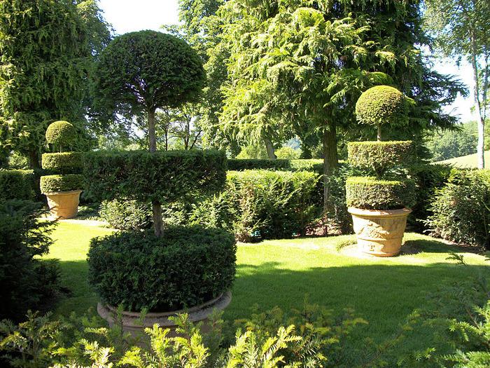 Сады поместья Эриньяк /Les Jardins du Manoir D'Eyrignac 11902