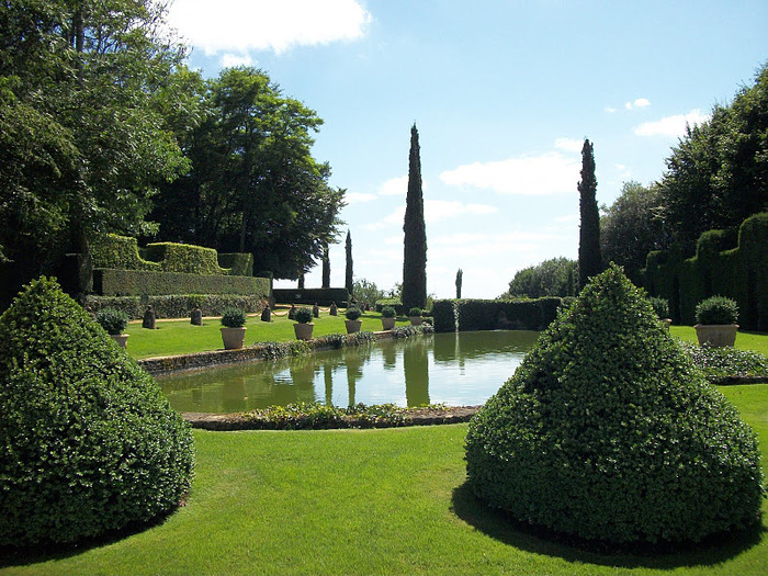 Сады поместья Эриньяк /Les Jardins du Manoir D'Eyrignac 15195