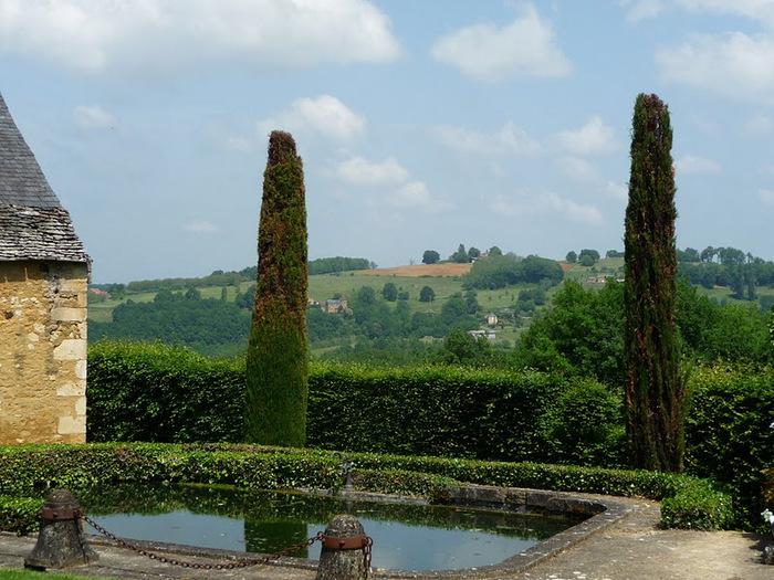 Сады поместья Эриньяк /Les Jardins du Manoir D'Eyrignac 71010