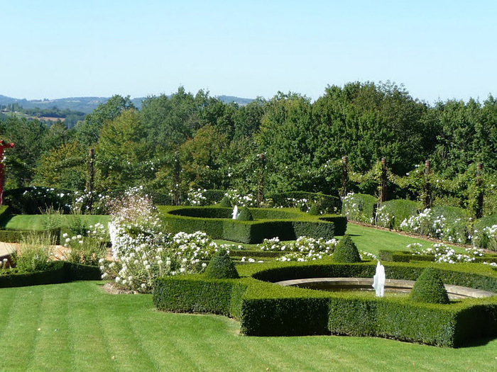 Сады поместья Эриньяк /Les Jardins du Manoir D'Eyrignac 25092