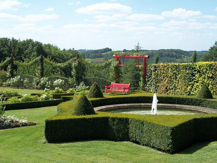 Сады поместья Эриньяк /Les Jardins du Manoir D'Eyrignac 62234