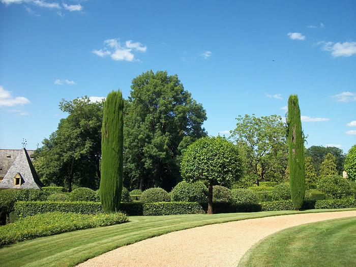 Сады поместья Эриньяк /Les Jardins du Manoir D'Eyrignac 45726
