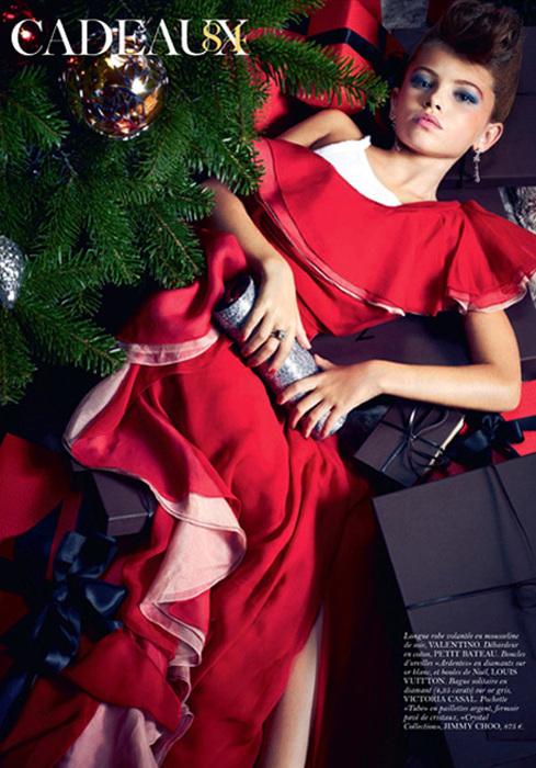 Французский Vogue обвиняют в развращении малолетних Снимки