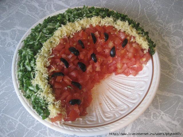 Салатики для детей с фото