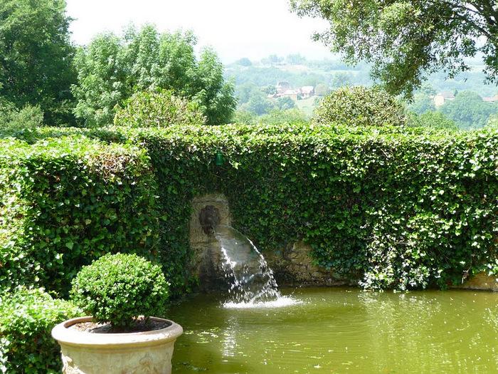 Сады поместья Эриньяк /Les Jardins du Manoir D'Eyrignac 85770