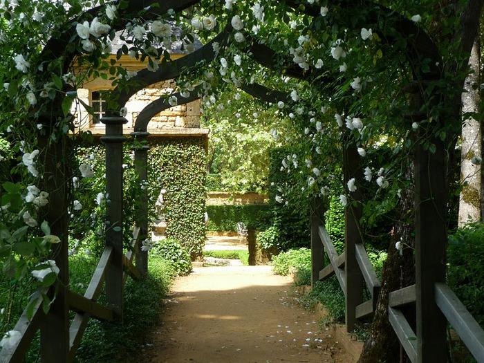 Сады поместья Эриньяк /Les Jardins du Manoir D'Eyrignac 10980