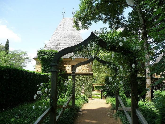 Сады поместья Эриньяк /Les Jardins du Manoir D'Eyrignac 85945