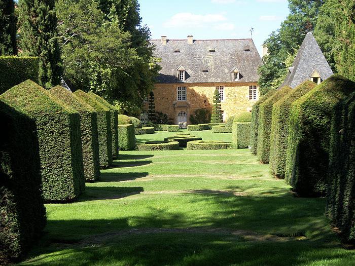 Сады поместья Эриньяк /Les Jardins du Manoir D'Eyrignac 75132
