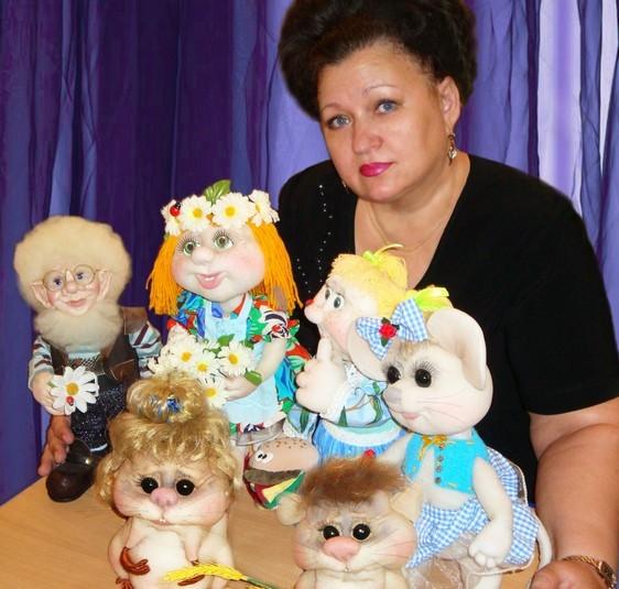 Куклы из колготок своими руками елены фото