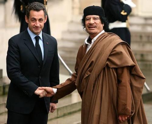 каддафи и Саркози (500x408, 46Kb)