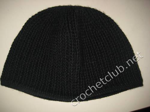 Мужская шапка вязаная крючком. вязанные мехом шапки. шапки мужские.