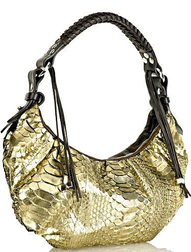 Женские сумки из кожи крокодила, ската ...